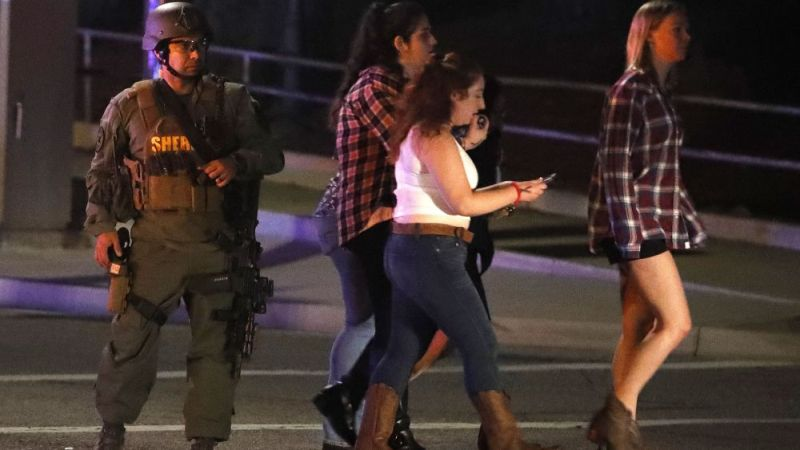 12 killed in California bar shooting: sheriff