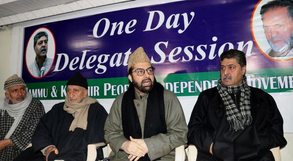 GoI pushing Kashmiri youth towards militancy: Mirwaiz