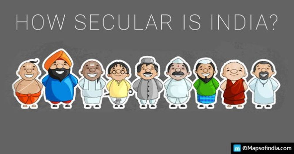 Securing the secular crentials of Indian Constitution