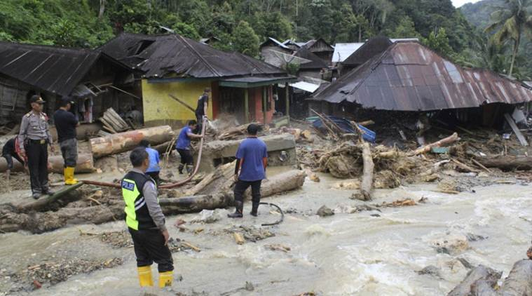 Heavy rains trigger landslide, floods in Indonesia; 44 dead