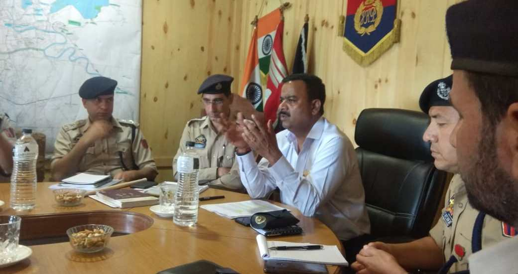 IGP Traffic takes stock of traffic scenario in view of Darbar Move