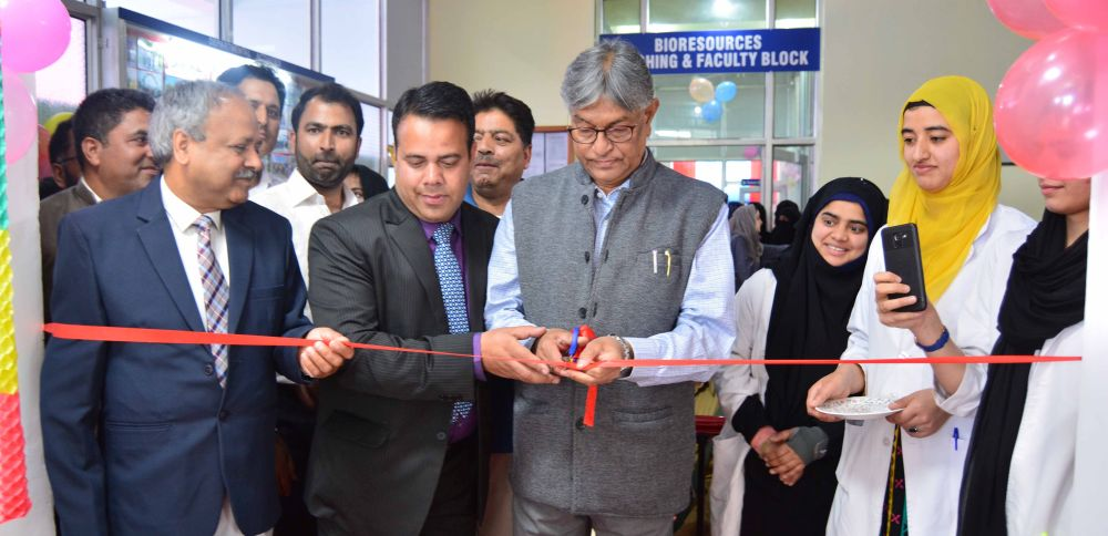 Prof Talat inaugurates state of art labs at Bioresources Dept KU