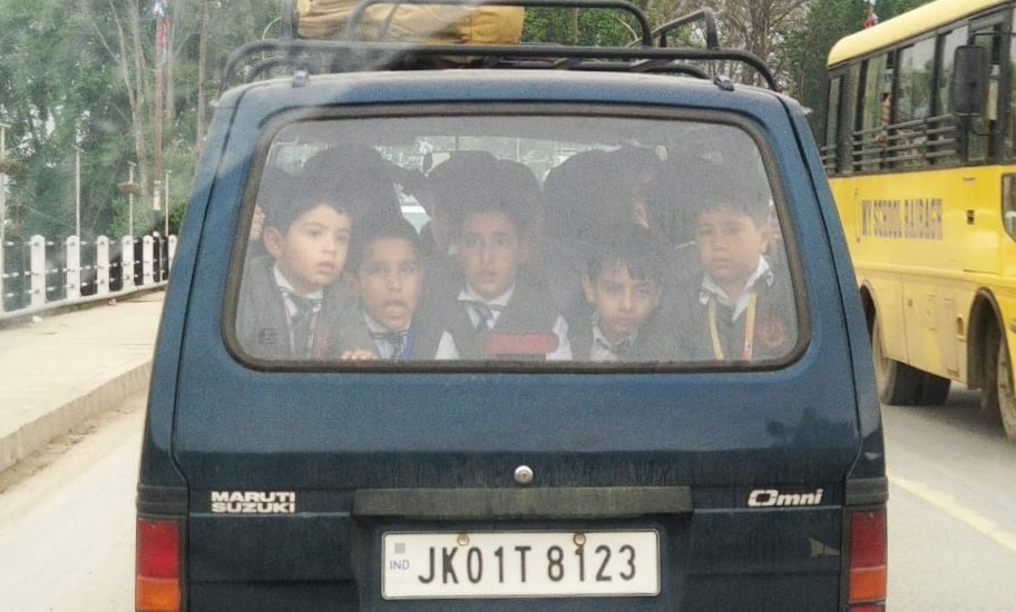 Registration of overloaded school van suspended