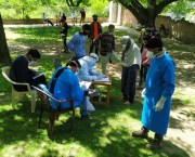 Special COVID sample Collection centre setup at Chitragam Shopian