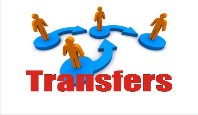 Admin orders transfer of 7 top officers