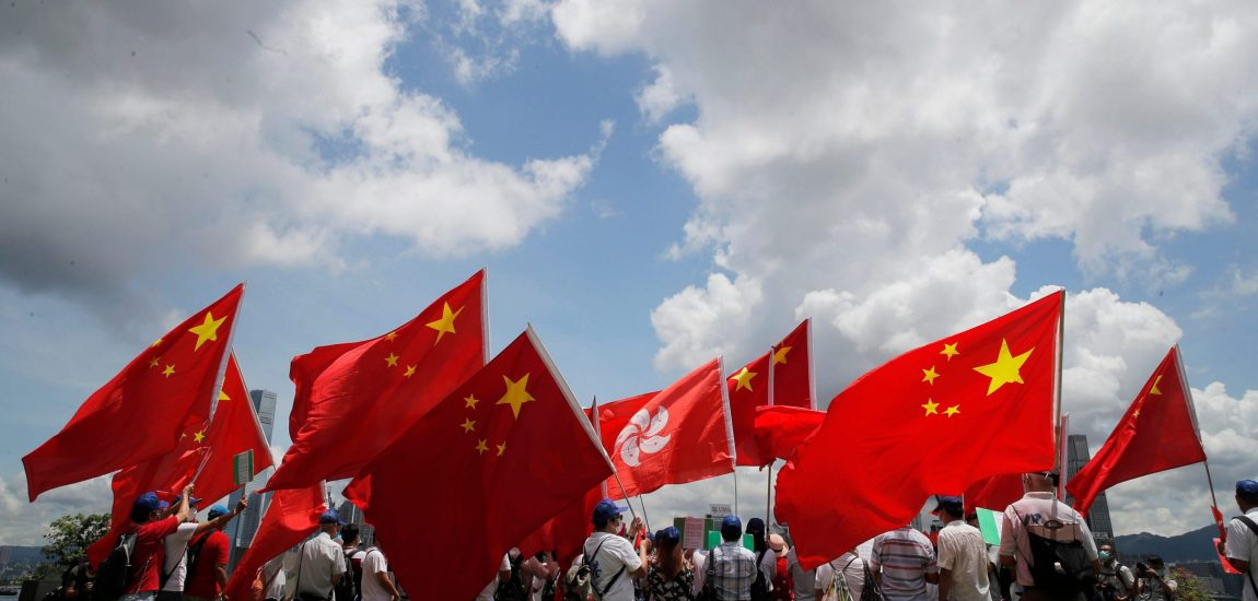After security law's passage, Hong Kong marks China rule