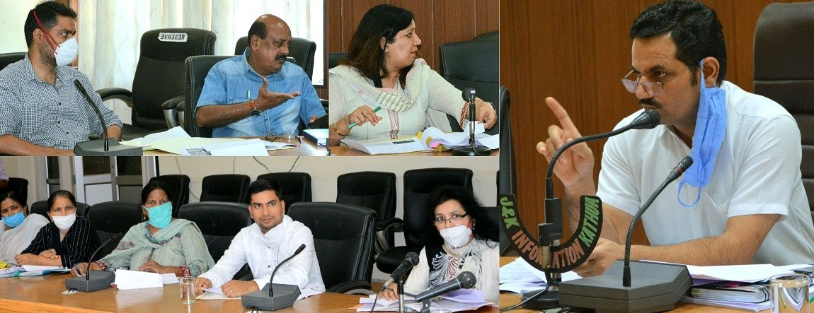 DDC Kathua discusses District Convergence Plan, PMAGY