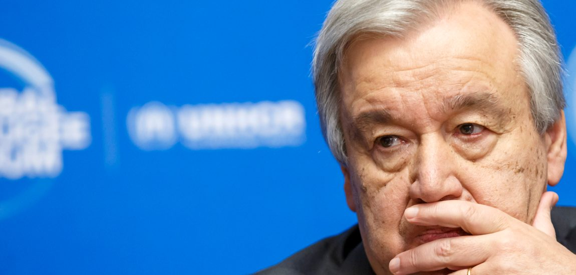 "Appeal for Yemen raises ""disappointing"" $1.7B: UN chief Antonio Guterres"