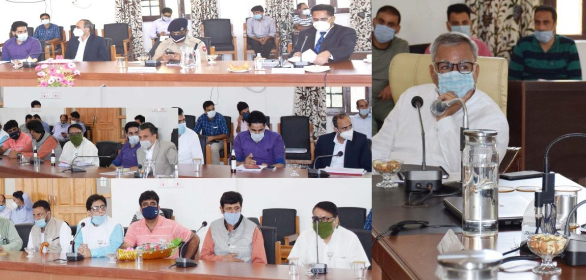 LG tours Anantnag; says, atmosphere of change is visible in J&K