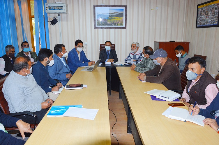 Progress on Baramulla-Gulmarg National Highway upgradation work reviewed