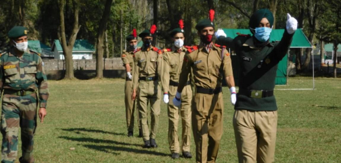 NCC Kashmir resumes training activities