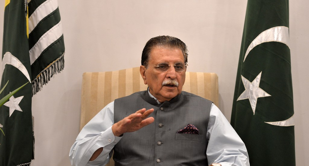 'AJK' premier says he was 'hurt' by sedition charges
