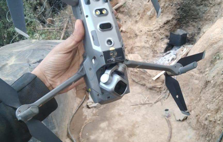 Quad-copter shot down in Keran sector: Army