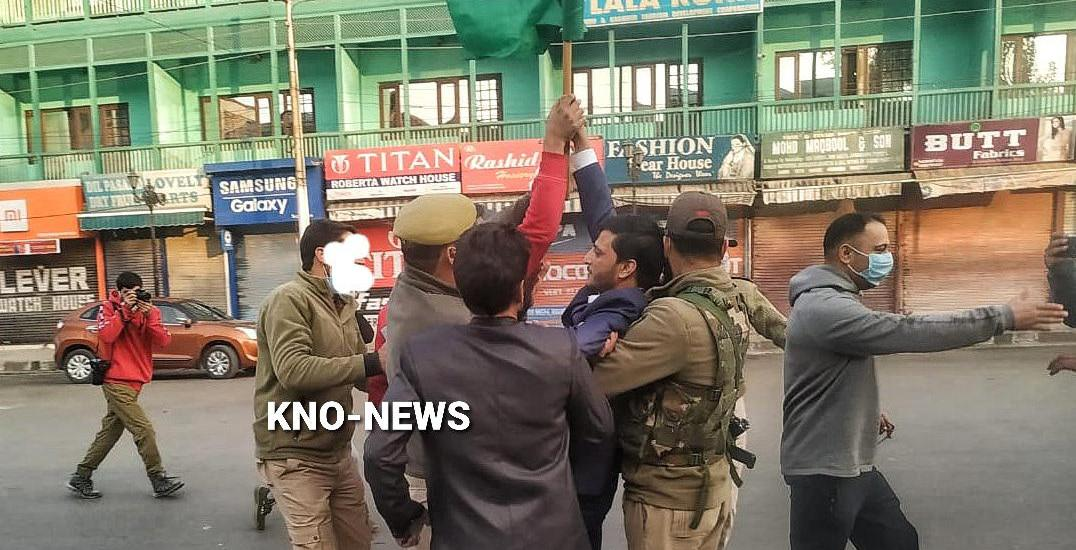 3 BJP workers from Kupwara detained for hoisting tricolour at clock tower, Lal Chowk