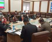 Atal Dulloo reviews implementation of PMJAY SEHAT scheme