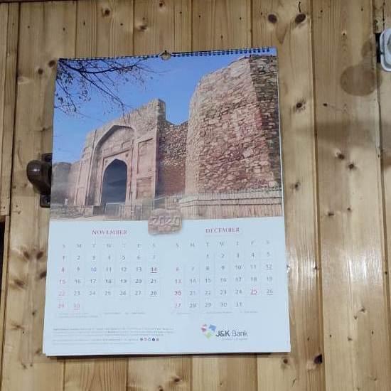 Kashmiris miss all time favourite JK Bank calendar