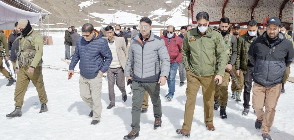 DC Bla reviews arrangements for Khelo-India Winter Games