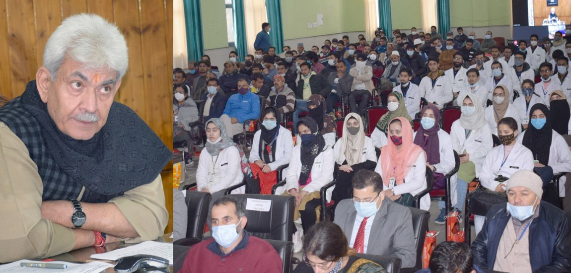 MBBS seats increased to address shortage of doctors in J&K: LG