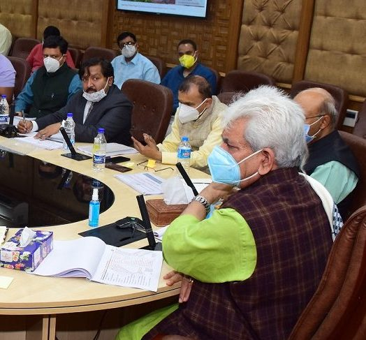 LG directs for speedy completion of Smart City projects by taking up multiple works simultaneously