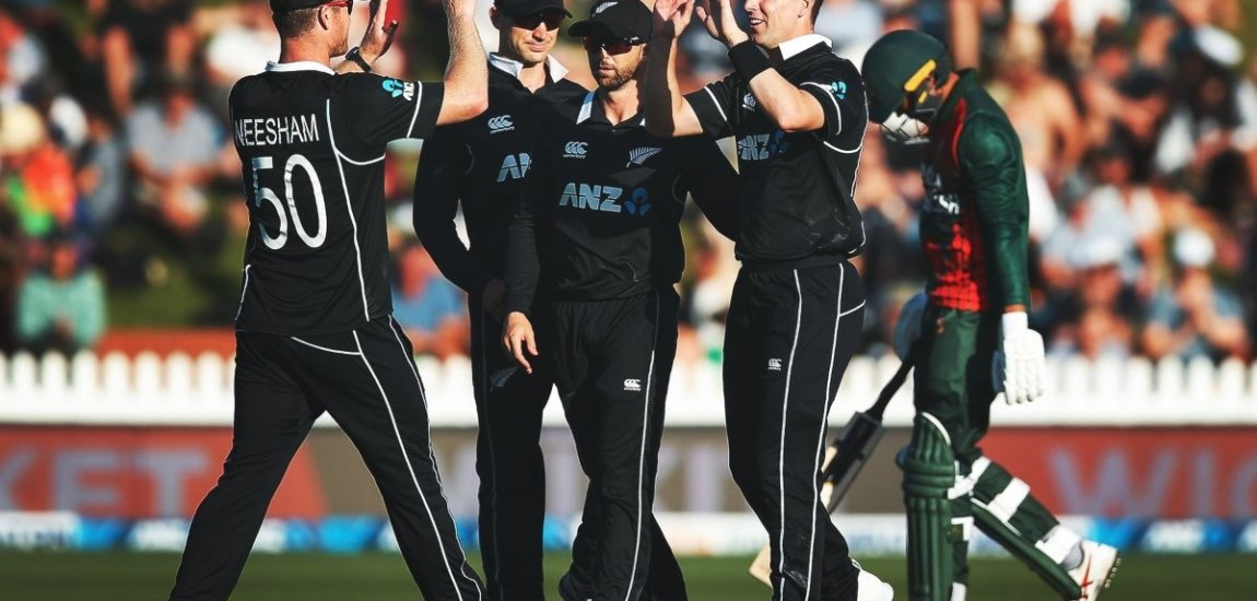 New Zealand defeats Bangladesh by 66 runs in 1st T20I