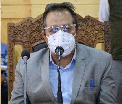 Baseer Khan reviews Covid mitigation preparedness in Bandipora