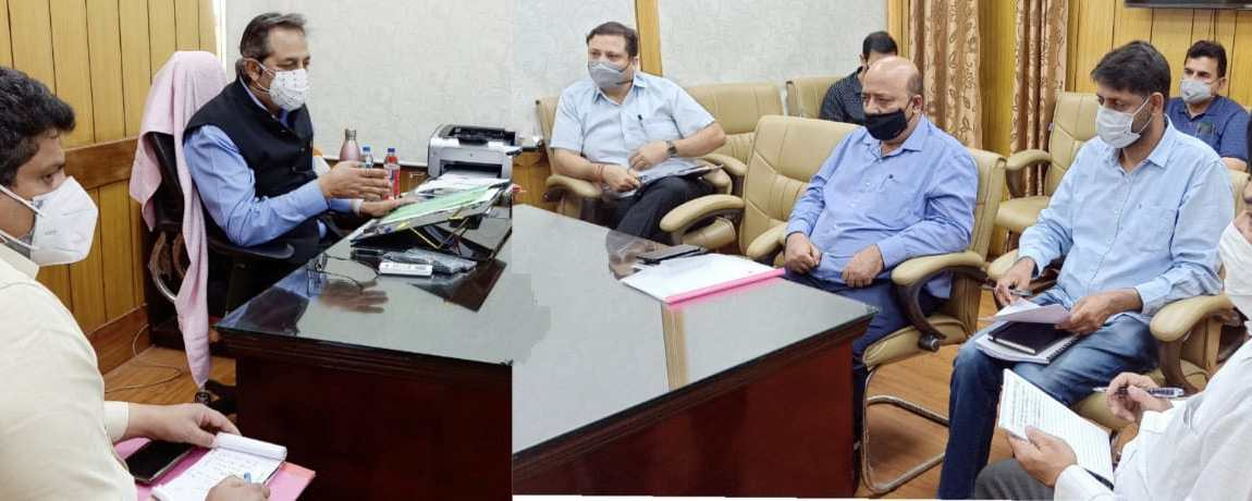 Advisor Baseer Khan directs for early commissioning of Musical Fountain at Bagh e Bahu