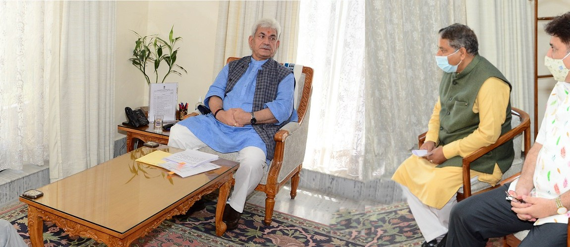 Former Deputy CM, Former Legislators call on Lt Governor