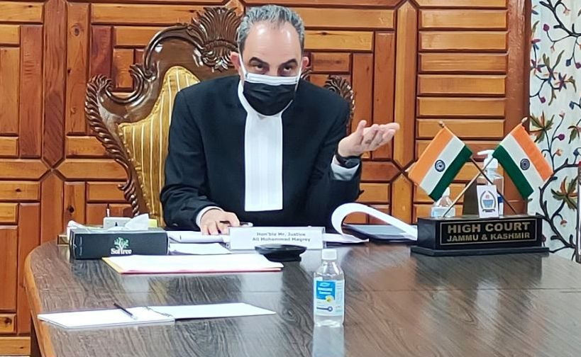Justice Ali Mohammad Magrey chairs Virtual meeting of J&K Juvenile Justice Board
