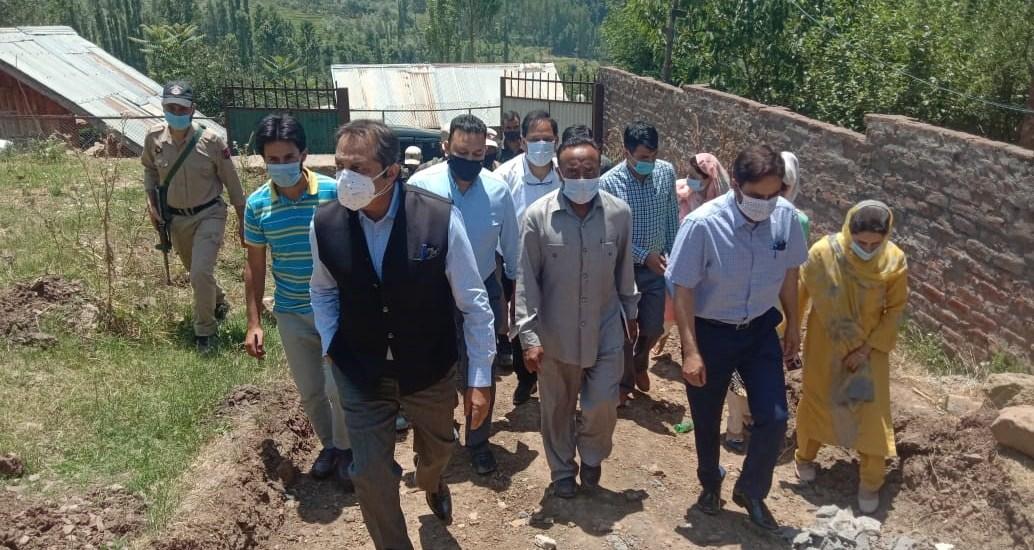 Baseer Khan visits Dara, Faqir Gujree