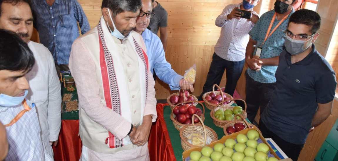 Union Minister Pashupati Kumar Paras visits CoE Zawoora