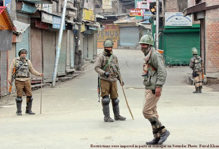 Protests rock Pulwama against killing of active militant's brother