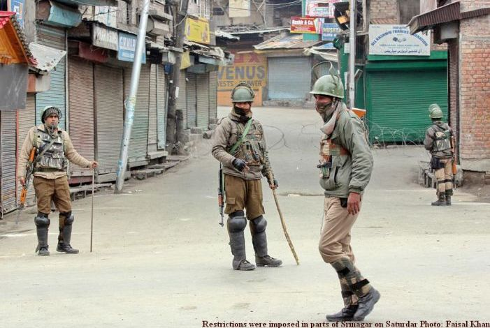 Curfew like restrictions imposed in downtown, parts of civil lines Srinagar