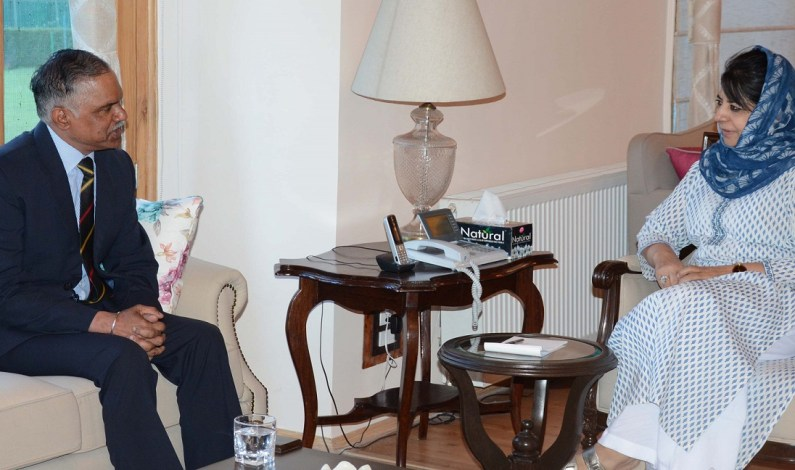 GOC Northern command meets CM, Governor