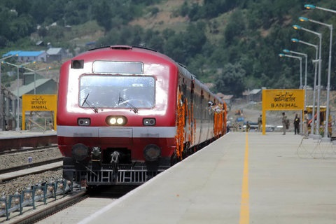 Boy jumps out of running train in Budgam, critically injured