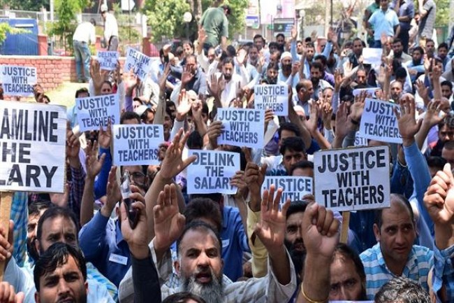 Govt requests education department to implement 7th pay commission for SSA teachers | The Kashmir Press