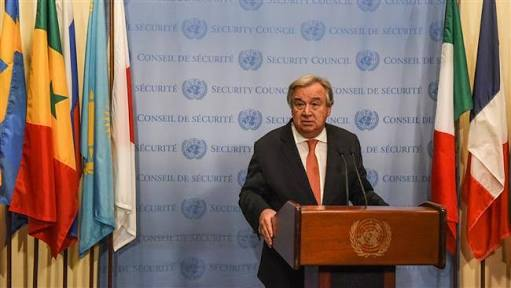 UN chief urges Hamas and Israel to step back from conflict in Gaza
