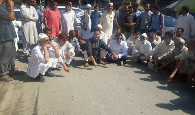 Rafiabad resident protest, demand appointment of Executive Magistrate, Tehsildar