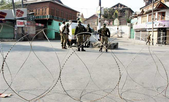 Zakir Musa killing: Curfew in Kashmir capital, restrictions in major towns
