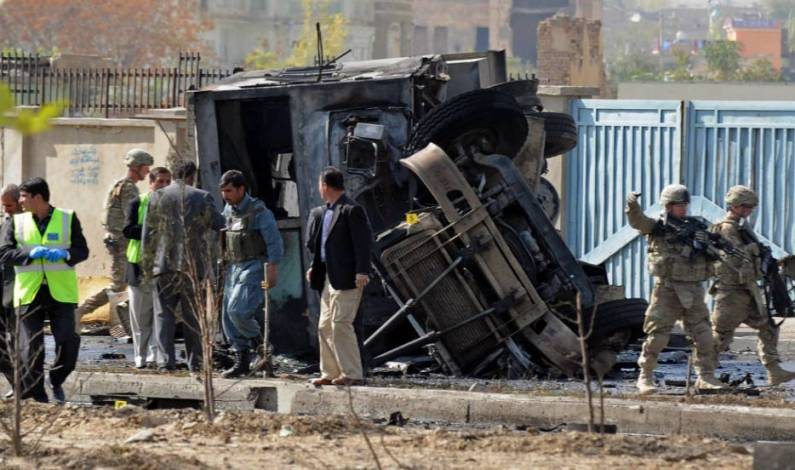 Suicide blast hits police in Afghanistan, kills 3