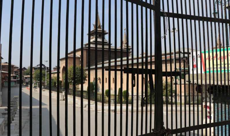 Mannan's killing: Friday prayers disallowed in Jamia Masjid Srinagar