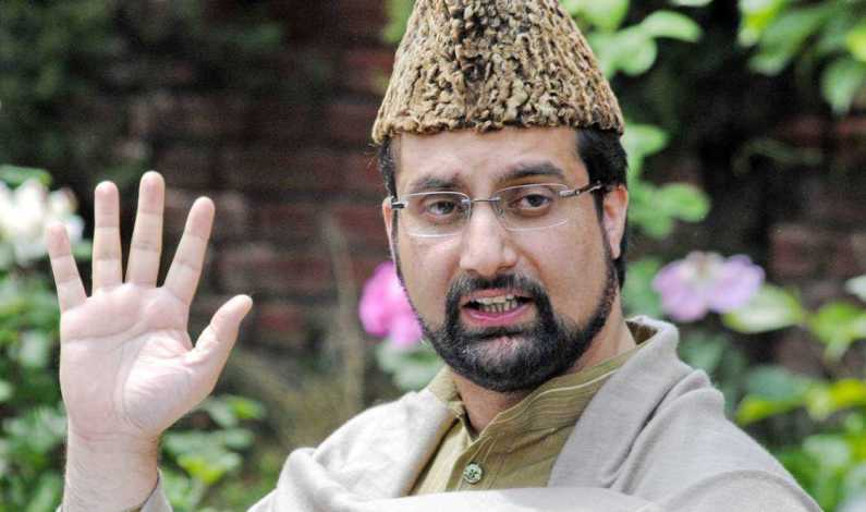 In first sermon after NIA questioning, Mirwaiz says leadership being pressurized to change political stand