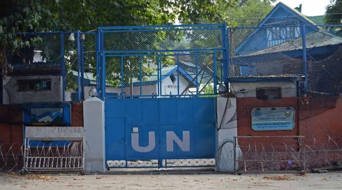 UN asks for escorts for military observers in Kashmir after Pakistan flag incident in Jammu