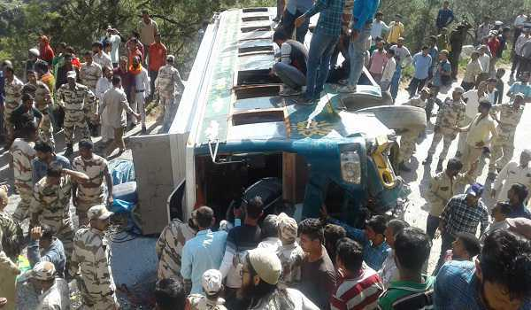 Two killed, 26 injured in accidents at Doda, Kishtwar