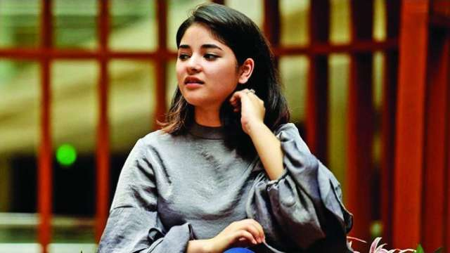 'I was projected as role model for youth, something that I never set out to do,' says actress Zaira Wasim before leaving Bollywood Dangal