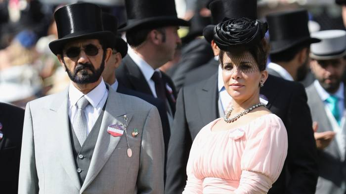 Run away bride: Dubai ruler Sheikh Mohammed al-Maktoum's & his estranged wife begin London court battle
