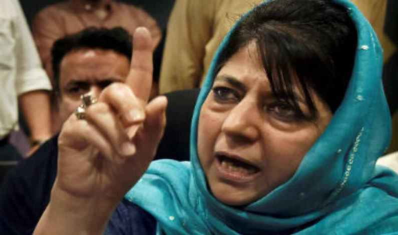Mainstream parties united to save special status of J&K: Mehbooba