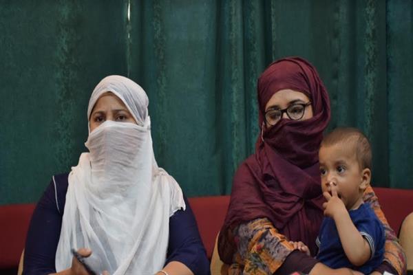 Give us citizenship or deport us back: Pakistani wives of Ex-militants ask Govt