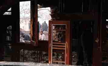 kashmir, forces vandalised property