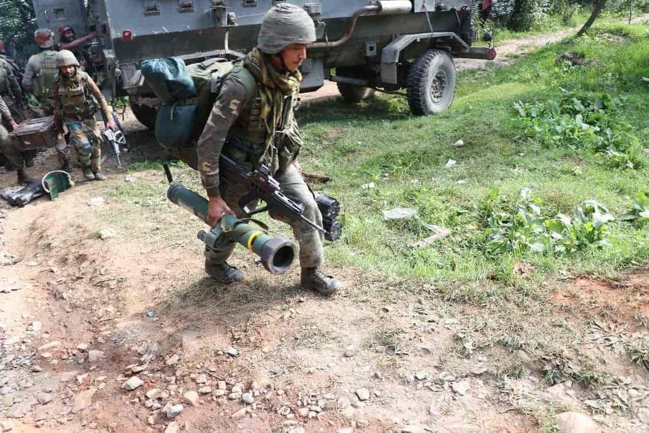 pulwama gunfight,Tral encounter,