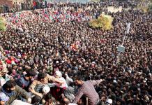 funeral prayers, Pulwama funeral, liyaqat